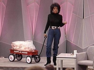 Who Helped Winfrey Lose 25 lbs In SIX Weeks Oprah Winfrey Show Set