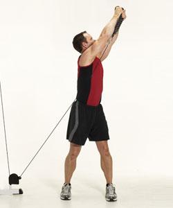 Wood Chop Exercise Strength Traini...