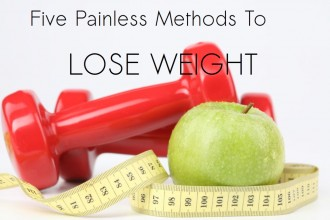 lose weight with 5 painless methods
