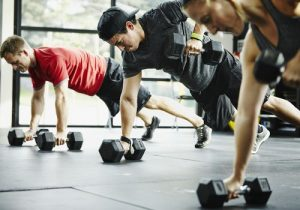 Weight training workouts